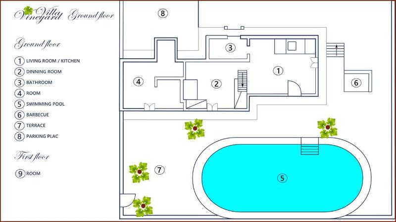 H(4+1): floor plan - 5003 H(4+1) - Bol - Bol - rentals