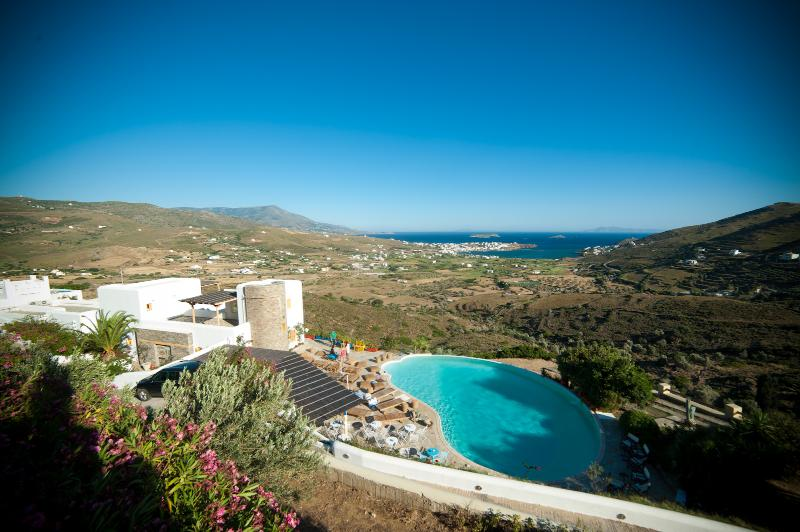 the property - Villa in ANDROS, with breathtaking view and pool - Andros - rentals