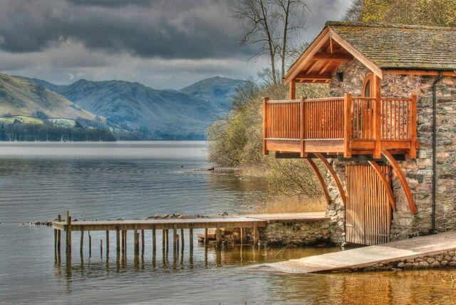 BOATHOUSE DUKE OF PORTLAND, Pooley Bridge, Nr Ullswater - Image 1 - Pooley Bridge - rentals