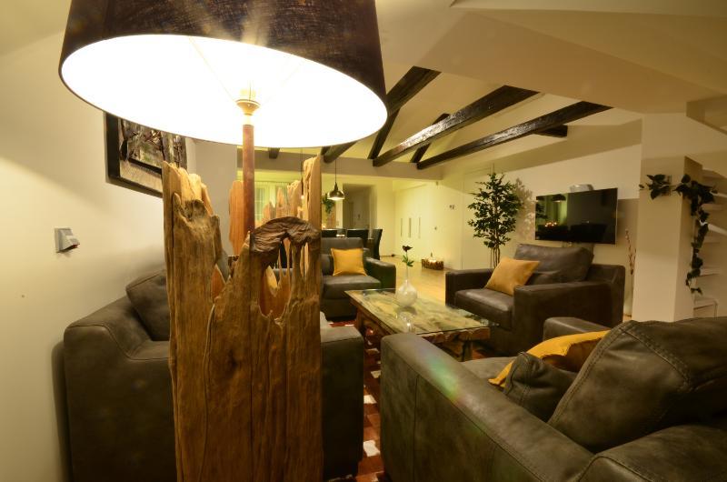 Living room - Grand Luxury Apartments - Attic Vitezna II - Attic Vitezna II - Iconic four bedroom apartment - Prague - rentals