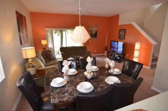 4 Bed 3.5 Bath Townhome In Fantastic Resort Near Disney. 2603CA - Image 1 - Orlando - rentals