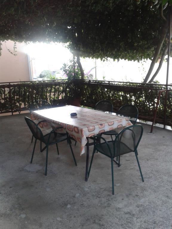 A1(4+1): terrace - 00713PODG  A1(4+1) - Podgora - Podgora - rentals