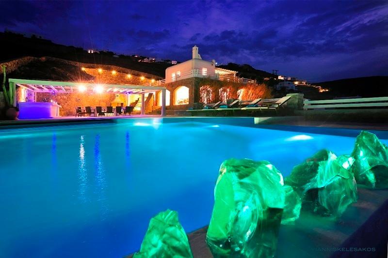 Private Pool - Blue Villas|Delos View Retreat|Luxury Villa - Mykonos Town - rentals