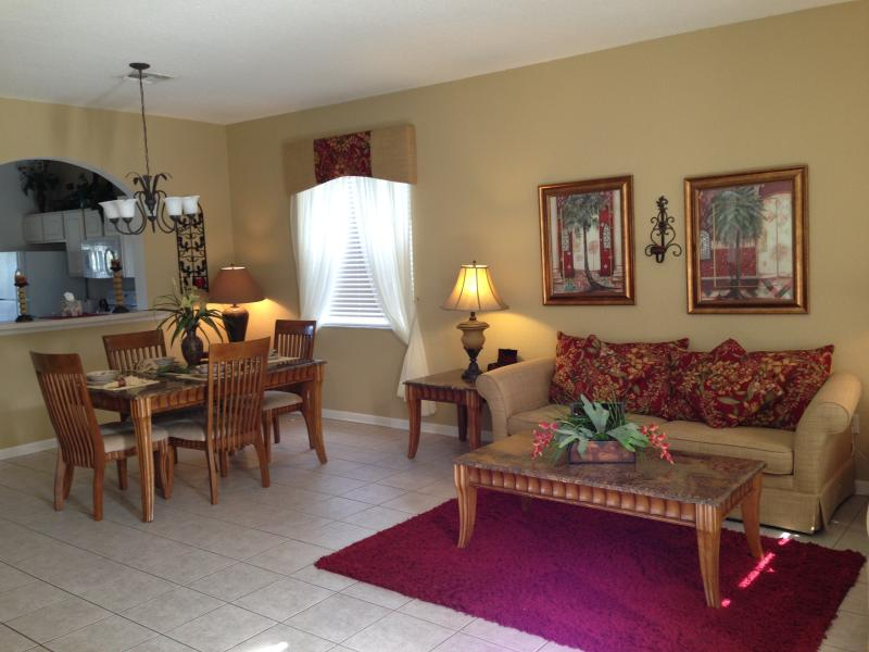 Dining Room / Living Room - Family Friendly Luxury Home - Great Rates - Kissimmee - rentals
