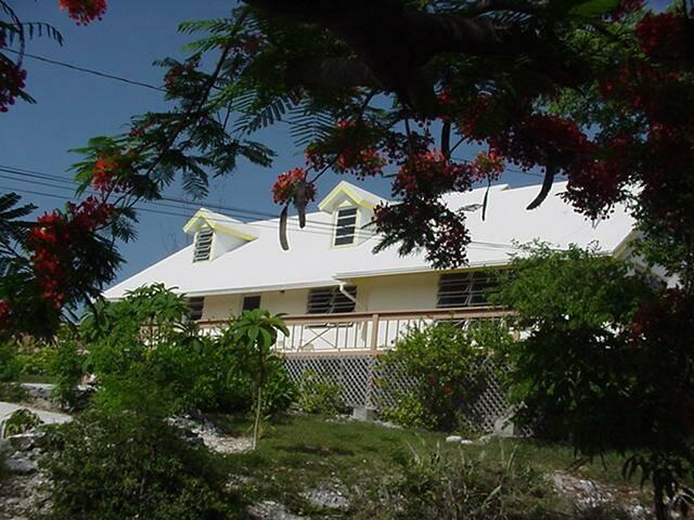 Through the Trees view of Coral Gardens - STUDIO APT for 2 for budget minded couples - Great Exuma - rentals