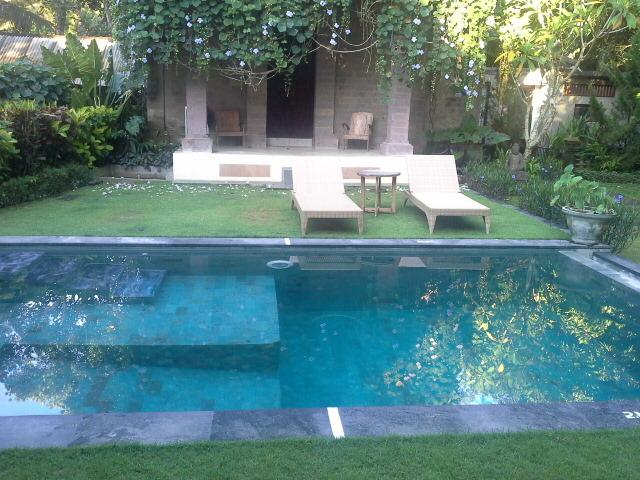 Natural stone pool for private use by guests. - Honey Tree Villa- Life is sweet! - Kedewatan - rentals