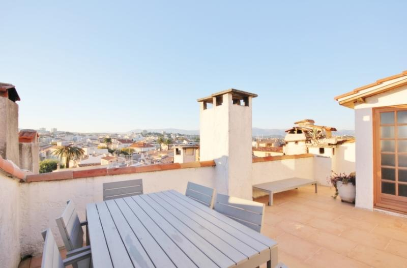 Studio roof terrace - Unwind in the heart of Old Antibes - Antibes - rentals