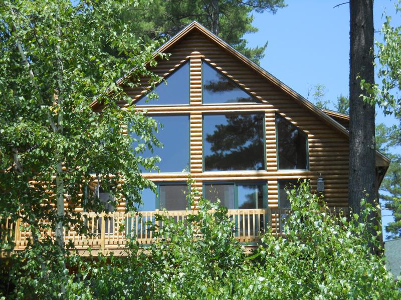 The Hive Faces South for Maximum Maine Sunshine - The Hive Luxury Mountain Log Home Shawnee Peak - Bridgton - rentals