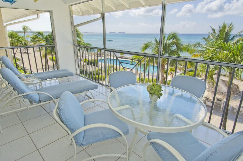 2 Bedroom 2 Bathroom Ocean Front Condo #18 - Image 1 - West Bay - rentals