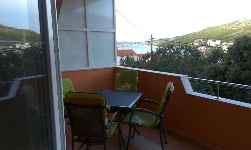 A1(4+1): terrace - 5056 A1(4+1) - Seget Vranjica - Seget Vranjica - rentals