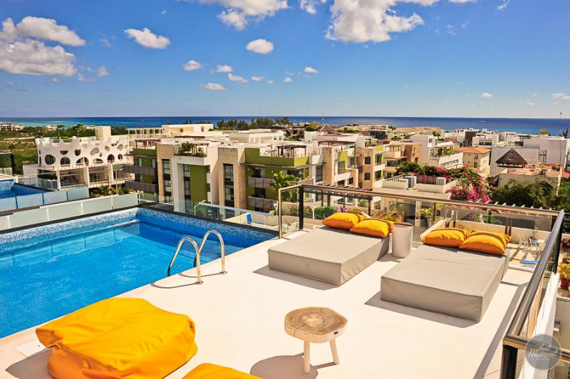 Incredibles views from the rooftop - VERY CLOSE TO THE BEACH! Suitable for 6 people! - Playa del Carmen - rentals