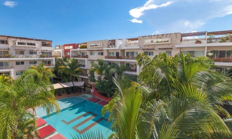 Great 2 BD PH in Playa Downtown - Image 1 - Playa del Carmen - rentals