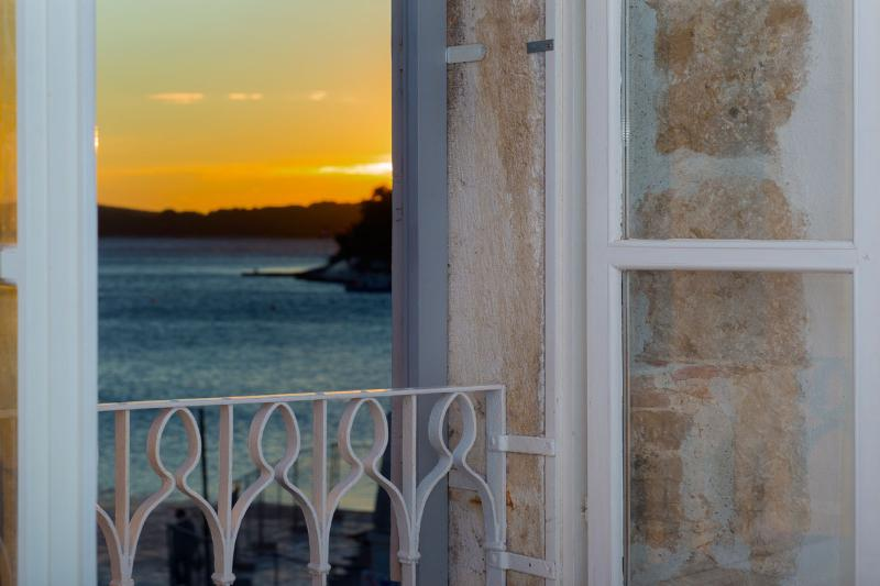Sea view from the apartment - Heart of Hvar Apartment - don't miss anything! - Hvar - rentals