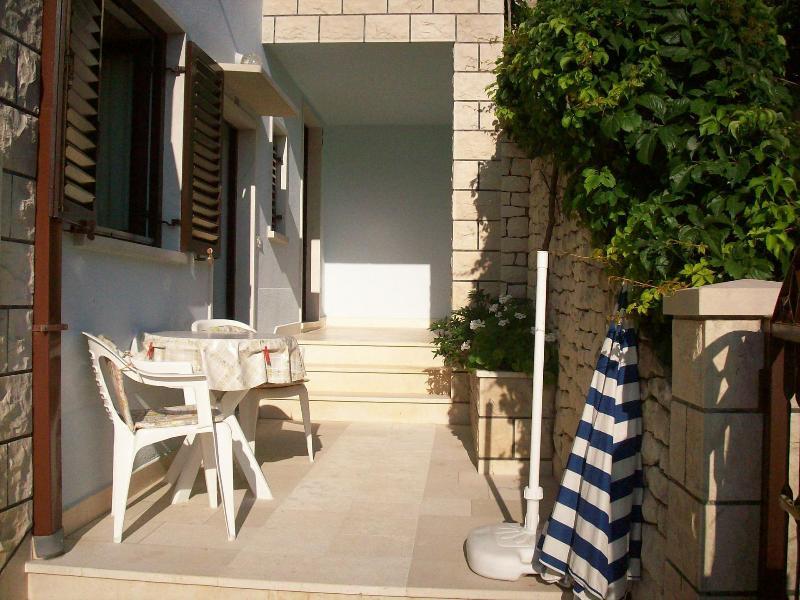 SA1(2): terrace - 5393 SA1(2) - Postira - Postira - rentals