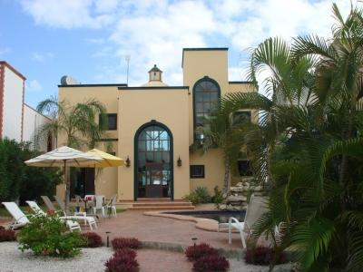 Front of the House - Villa Encantamar - Steps Away from the Blue Waters - Puerto Morelos - rentals