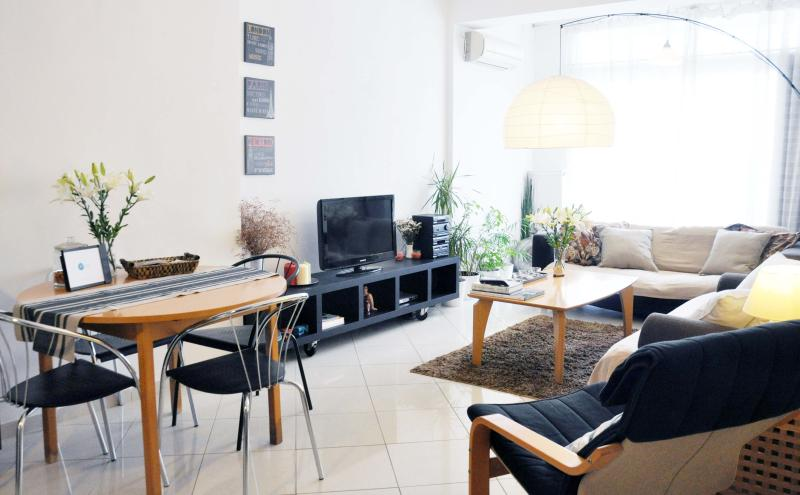 Living room of the apartment - Apartment @ the heart of Thessaloniki - Thessaloniki - rentals