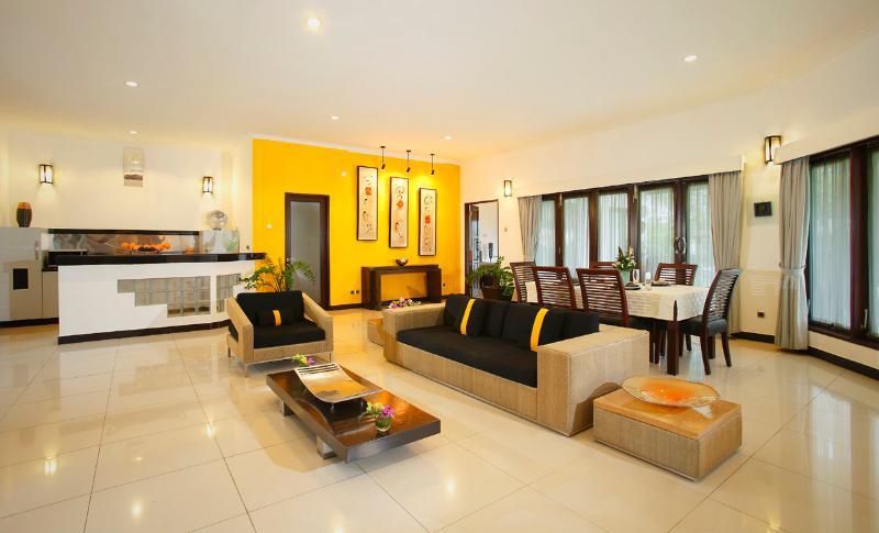 Romantic beachfront two bedroom villa - Image 1 - Gianyar - rentals