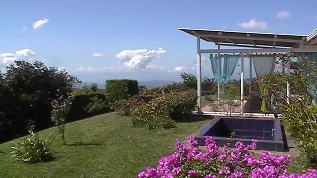 Terrasa con vista al Pazifico y Nicoya - Casa Vista Golfo tropical mountain refuge - San Ramon - rentals