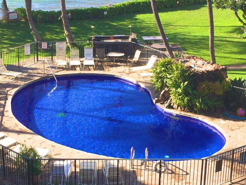 Kanai grounds, pool and ocean. - Escape to Paradise! Beautiful Ocean Front condo - Maalaea - rentals