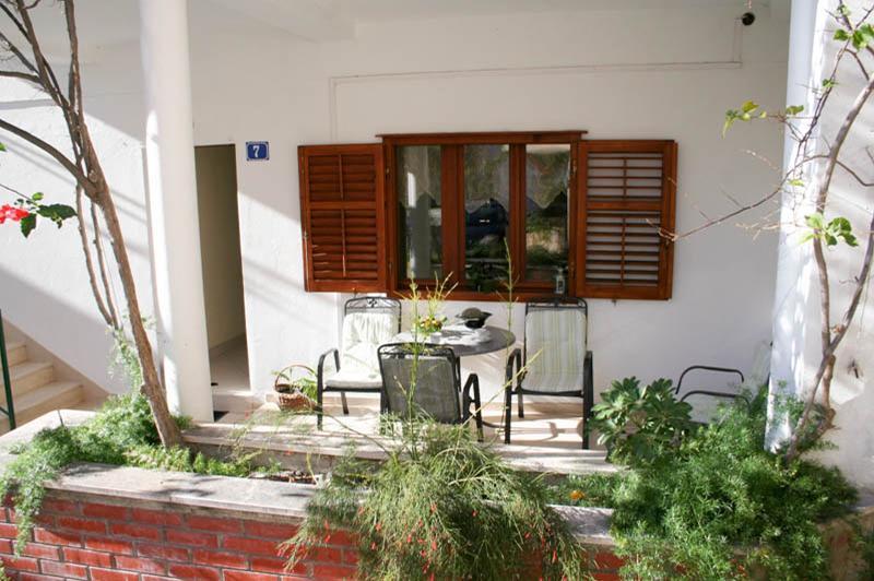 garden terrace - 01613PODG  A1(4+2) - Podgora - Podgora - rentals