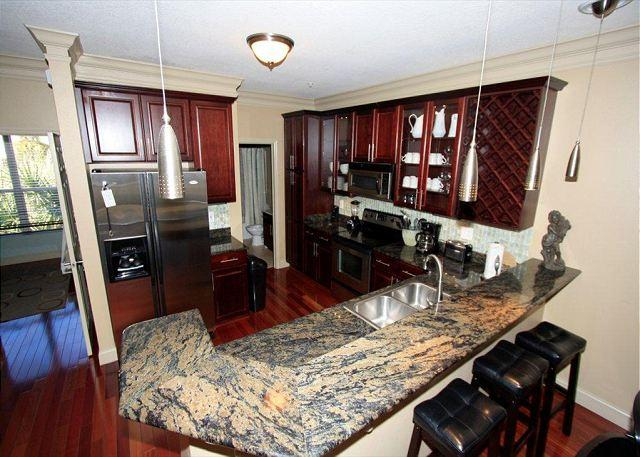 Second Floor Kitchen - Beach Pointe 301 Pet Friendly Home! The Perfect Winter Nest For Snowbirds! - Destin - rentals