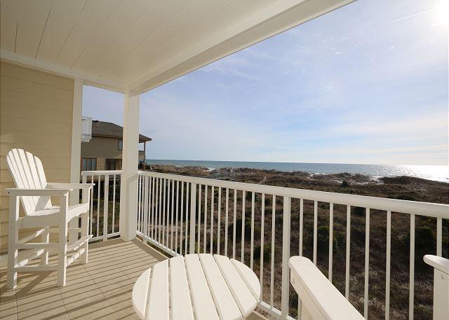 Wrightsville Dunes 2C-H - Oceanfront condo with community pool, tennis, beach - Image 1 - Wrightsville Beach - rentals