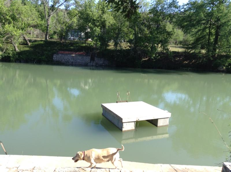 River access about 200 yards behing home! Canoe and floating Dock! - Fall Foliage! Hunt TX! - Hunt - rentals