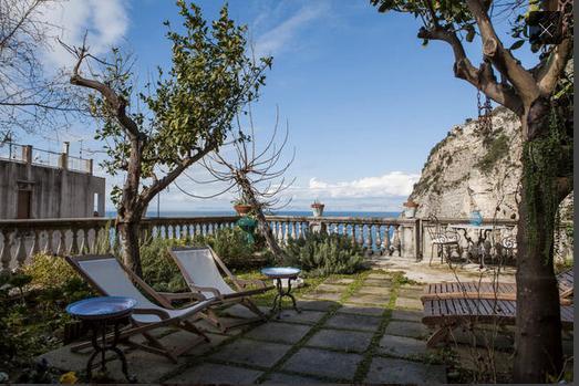garden - Amaca, immersed in a green garden between lemon and orange trees - Meta - rentals