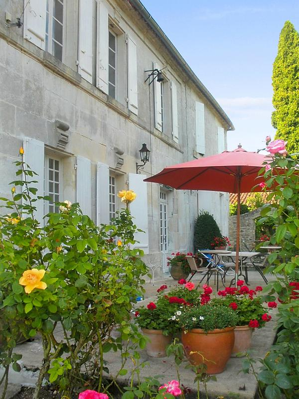 Large, character-filled house near Cognac with 4 bedrooms, colourful garden and - Image 1 - Jarnac - rentals