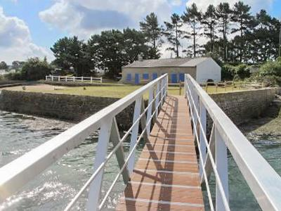 Original seaside house in Brittany with 4 bedrooms, lovely garden, jetty and - Image 1 - Baden - rentals
