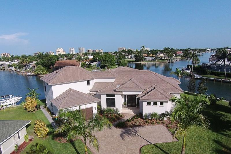 Exterior Aerial - Lily Ct. 1270 - Marco Island - rentals