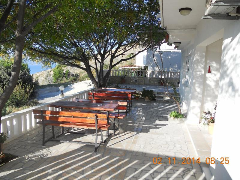 A1(2+2): common terrace - 35338  A1(2+2) - Celina Zavode - Stanici - rentals