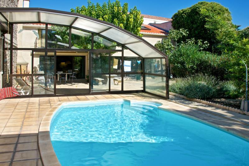 Comfortable harbourside maisonette in Marseillan with garden and pool - Image 1 - Marseillan - rentals