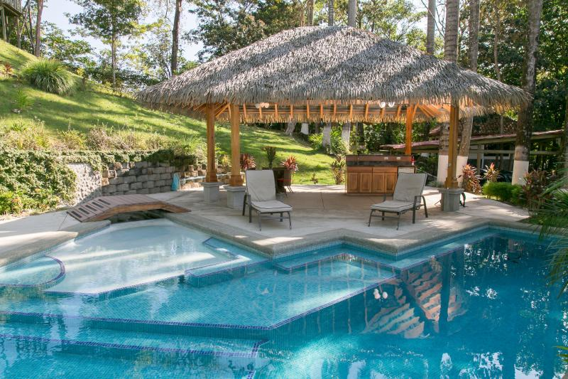 Pool and rancho - Stunning Ocean View Villa-Summer special $1000 off - Manuel Antonio National Park - rentals