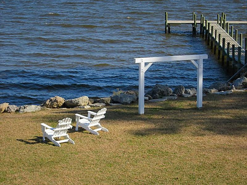 View from your Deck - Neuse Village Cottage #3 101026 - Arapahoe - rentals