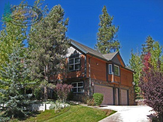 Front of the cabin - Dream Catcher - 3 Bedroom Vacation Rental in Big Bear Lake - Big Bear Lake - rentals
