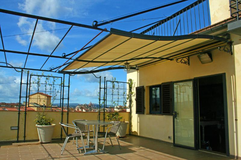 2 BIG, Private, Panoramic, Tier TERRACES at yout disposal - Apartment Terrace with a View, Florence is All Around - Florence - rentals