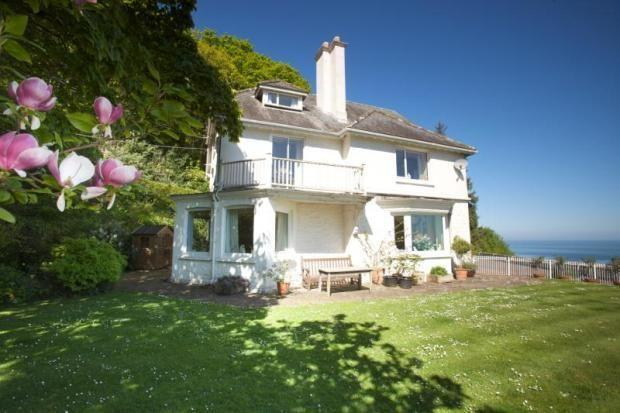 Owlscombe, Porlock Weir - Large property with uninterrupted coastal views and delightful garden - Image 1 - Porlock Weir - rentals