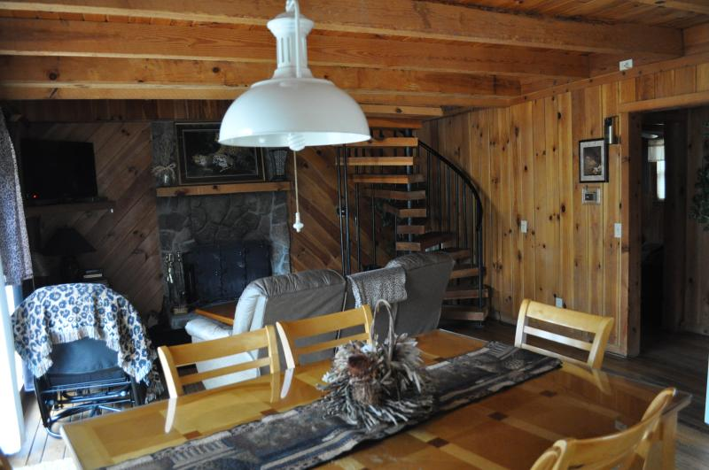 Living Room/Dinning in the Leopard cabin - Affordable, Big Beautiful Cabins 6 miles to Helen - Helen - rentals