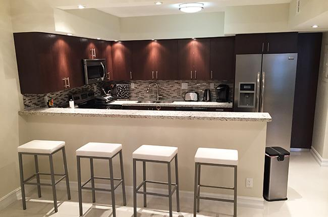 Fully Equipped Kitchen - 2 BR Condo - Direct Ocean View, Walk To The Beach - Sunny Isles Beach - rentals