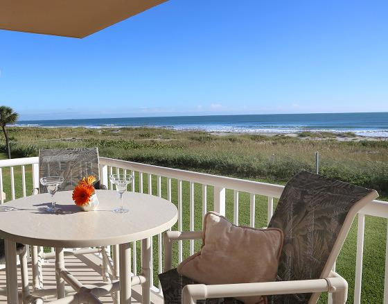 One of two direct oceanfront balconies! - ** Direct Ocean 3 Bedroom with 2 Balconies ** - Cocoa Beach - rentals