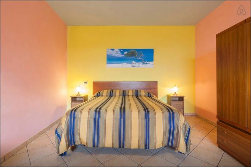Bedroom - App near Sorrento, Amalfi coast, Pompei - Vico Equense - rentals