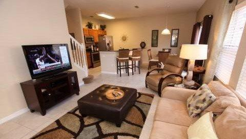 4 Bed 3 Bath Town Home In Encantada Resort. 3152YLL - Image 1 - Orlando - rentals