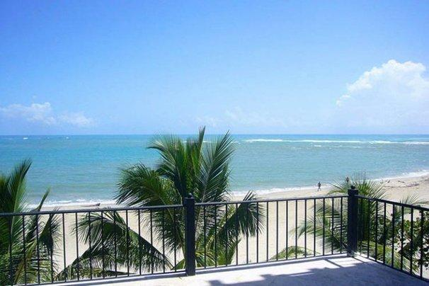 Beachfront, 3 Bd ,Center of town. As close to the Beach as you can get. - Image 1 - Cabarete - rentals