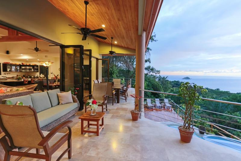 Casa Anjali- Ocean View Luxury Home- 7 bedrooms - Image 1 - Manuel Antonio National Park - rentals
