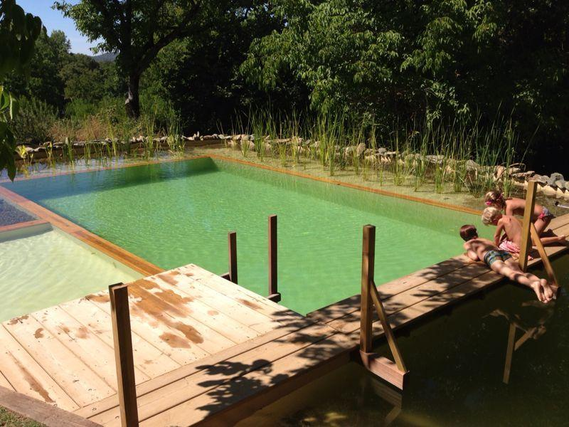 Natural swimming pool. With no chemicals. - Holidays Cottages Camino del Castaño, Spain - Galaroza - rentals