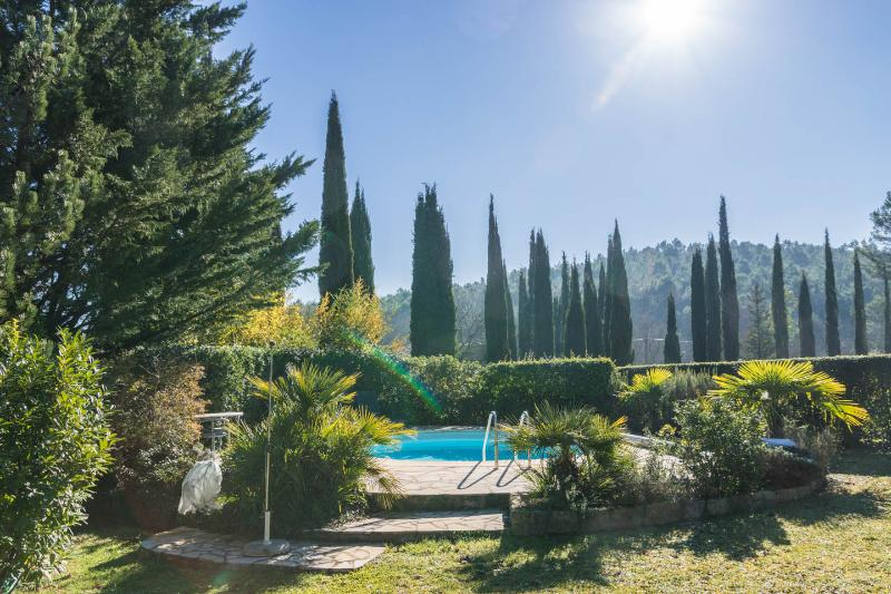 The pool - Charming old stonehouse with pool, Fayence. 6pers. - Fayence - rentals