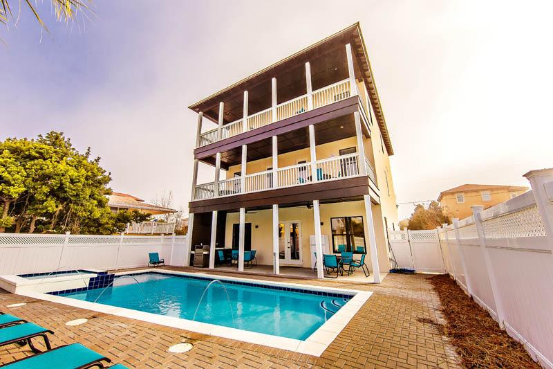 77 Sunset- Brand New Luxury Beach Home w/Pool - Image 1 - Miramar Beach - rentals
