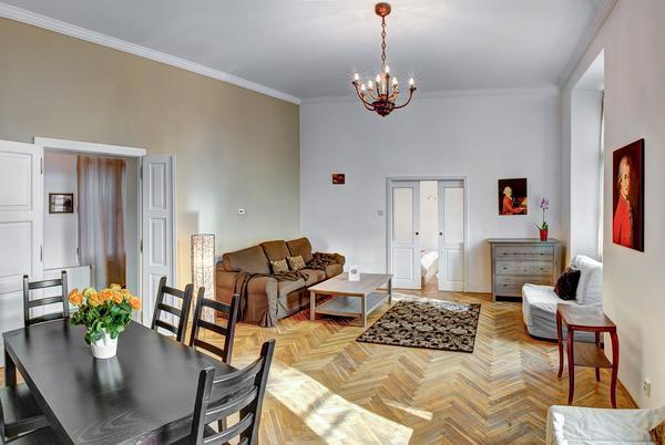 Mozart Historic apartment - living room - Mozart Historic apartment - Prague - rentals