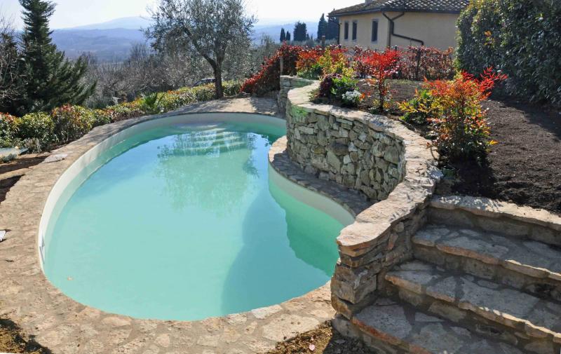 Rustic, PRIVATE panoramic VILLA GELLO - Image 1 - Castelfiorentino - rentals